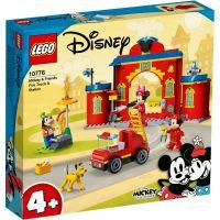 LG10776_001w LEGO® Mickey And Friends - Statia si camionul de pompieri ale lui Mickey si prietenii sai (10776)