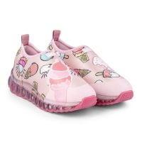 1079104 Pantofi sport Bibi Shoes Led Roller Celebration Ice Cream, Roz 1079104
