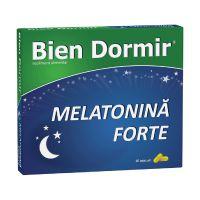 Bien Dormir + Melatonina forte, 10 capsule