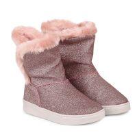 1087026 Cizme cu blanita Bibi Shoes Urban Glitter, Roz 1087026