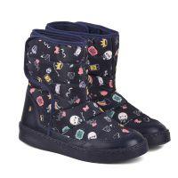 1087029 Cizme cu imprimeu Bibi Shoes Urban Naval 1087029