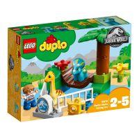 LEGO® DUPLO® - Jurassic World - Gradina Zoo a uriasilor blanzi (10879)