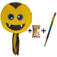 Pinata cu bat si confetti Emoji Vampir, PinaStar