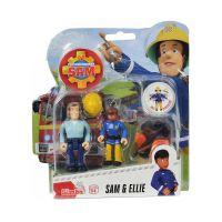 109251026038_001w Set 2 figurine cu accesorii Pompierul Sam, Ellie si Sam, 7.5 cm
