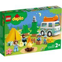 LG10946_001w LEGO® Duplo - Aventura cu rulota de vacanta a familiei (10946)