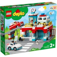 LG10948_001w LEGO® Duplo - Garaj si spalatorie de masini (10948)