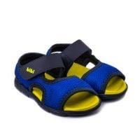 1101006 Sandale Bibi Basic Mini Naval/Galben 1101006