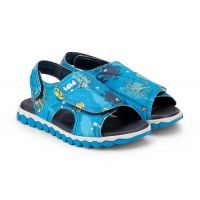 1103048 Sandale Sport cu Velcro Bibi Shoes Summer Roller Marine