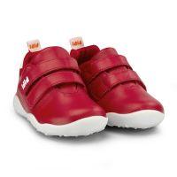 1110118 Pantofi din piele Bibi Shoes Fisioflex, Rosu 1110118