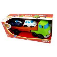 113452_001w Set de joaca Camion cu 2 masinute moi Motor Town