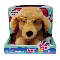 113623_001w Jucarie de plus interactiva Zoopy Club Doctor Dog