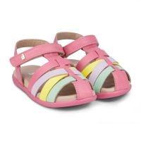 1142012 Sandale din piele Bibi Shoes Baby Soft, Roz 1142012