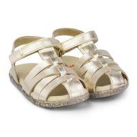 1142013 Sandale din piele Bibi Shoes Baby Soft, Auriu 1142013