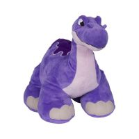11561_001w Jucarie de plus interactiva Thunder Stomper Slash Purple. 30 cm