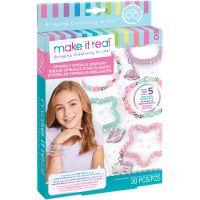MR1210_001w Set Make It Real, Bratari colorate spiralate, 69 piese