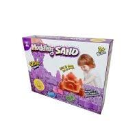 1240B_001w Nisip de modelat colorat Modeling Sand, 1200 g