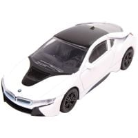 58400_007w Masinuta Rastar BMW I8, Alb, 1:43