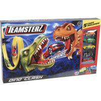 1416440.V19_001w Set lansator de masinute Teamsterz, Dino Clash