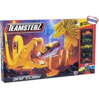 1416440.V20_001w Set lansator de masinute Teamsterz, Dino Clash V20
