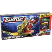 1416576.V19_001w Set lansator de masinute Teamsterz, Dino Attack