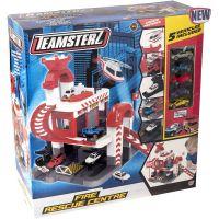 1417106_001w Set de joaca cu 5 masinute Teamsterz, Fire Rescue Centre