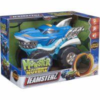 1417117 Albastru Masinuta cu lumini si sunete Teamsterz, Monster Moverz Robo Shark, Albastru