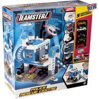 1417153_001w Set de joaca cu 5 masinute Teamsterz, Police Rescue Centre