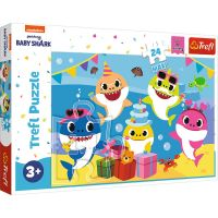 Puzzle 24 piese, Trefl Maxi, Baby Shark cel bucuros
