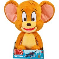 14456_001w Jucarie de plus Tom and Jerry, Jerry, 35 cm