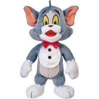 14466_001w Jucarie de plus Tom and Jerry, Maestro Tom, 20 cm