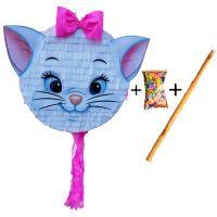 Pinata cu bat si confetti Pisica Alintata, PinaStar