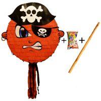 Pinata cu bat si confetti Pirat, PinaStar