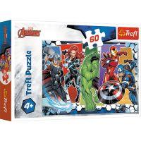 Puzzle 60 piese, Trefl, Invincibilii Avengers