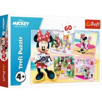 Puzzle 60 piese, Trefl, Minunata Minnie Mouse
