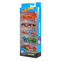 1806_2018_010w Set masinute Hot Wheels, X-Raycers, DJD26 (5 modele)