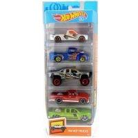 1806_2018_062w Set masinute Hot Wheels, HW Hot Truks, FKT63 (5 modele)