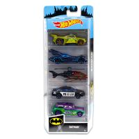 1806_2018_364w Set masinute Hot Wheels, Batman, FYL09 (5 modele)