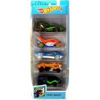 1806_2018_365w Set masinute Hot Wheels, Street Beasts, FYL10 (5 modele)