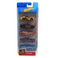1806_2018_403w Set masinute Hot Wheels, Flames, FYL19 (5 modele)