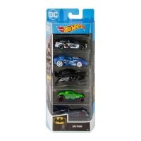 1806_2018_483w Set masinute Hot Wheels, Batman, GHP54 (5 modele)