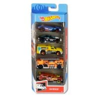 1806_2018_492w Set masinute Hot Wheels, Hw Rescue GHP61 (5 modele)