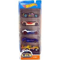 1806_2018_495w Set masinute Hot Wheels, HW City, GHP56 (5 modele)