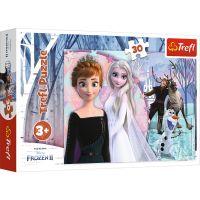 Puzzle 30 piese, Trefl, Taramul magic, Disney Frozen 2