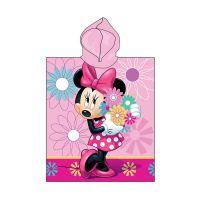 18PN199_001w Prosop de plaja Disney Minnie Mouse, Roz