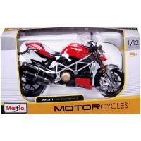 Motocicleta Maisto, Ducati Mod Streetfighter, 112