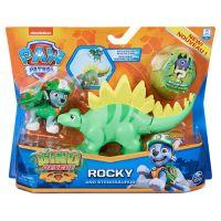 6058512_006w Set 2 figurine Paw Patrol Dino Rescue, Rocky and Stegosaurus, 20129715