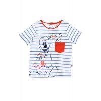 20190103_MALBASTRU Tricou cu imprimeu fantastic Mickey, Albastru