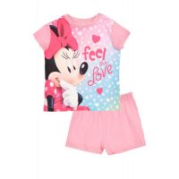 20190113R Pijama cu imprimeu Disney Minnie, Feel the love, Roz