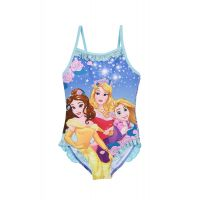 20190145_YA Costum de baie cu imprimeu Princess, Albastru