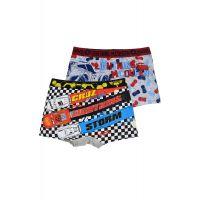 20190162SET1 Set boxeri de baieti cu imprimeu, Cars